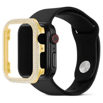 Funda compatible con Apple Watch ® Sparkling, 40 mm, Tono dorado - Swarovski, 5599697