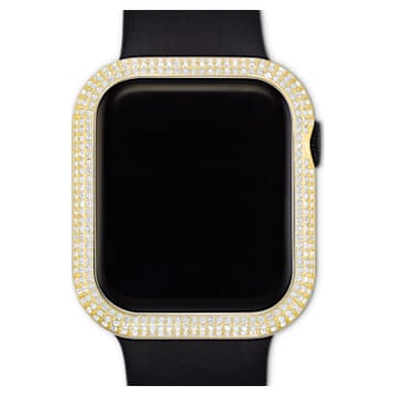40mm Sparkling Gehäuserahmen passend zur Apple Watch ® , goldfarben - Swarovski, 5599697