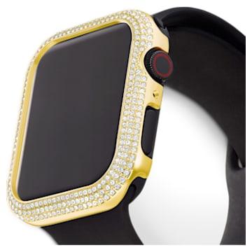Sparkling Apple Watch ® kompatibilis tok, 40 mm, Arany árnyalatú - Swarovski, 5599697