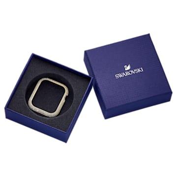 Sparkling Gehäuserahmen passend zur Apple Watch ®, 40 mm, Goldfarben - Swarovski, 5599697