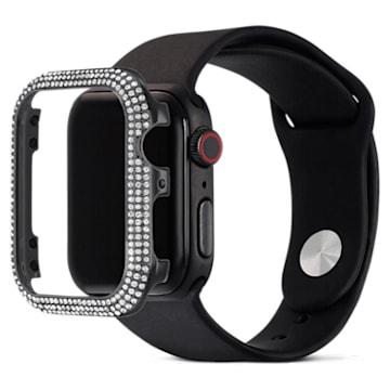 40mm Sparkling Apple Watch ® kompatibilis tok, fekete - Swarovski, 5599698