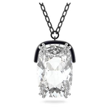 Harmonia medál, Nagy méretű kristály, Fehér, Vegyes fém kivitelben - Swarovski, 5600042