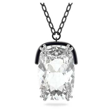 Pandantiv Harmonia, Cristal supradimensionat., Alb, Finisaj metalic mixt - Swarovski, 5600042
