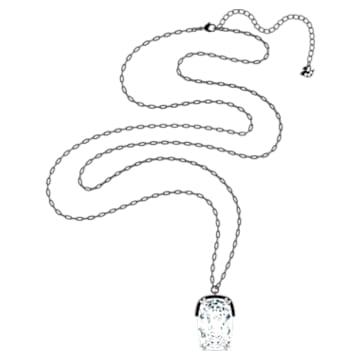 Přívěsek Harmonia, Velký křišťál, Bílá, Smíšený kovový povrch - Swarovski, 5600042