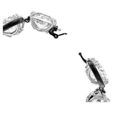 Pulseira Harmonia, Cristais de lapidação cushion, Branco, Acabamento de combinação de metais - Swarovski, 5600047