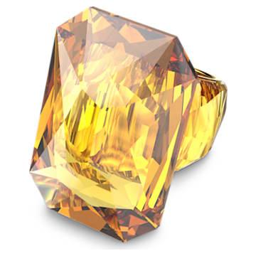 Lucent 个性戒指, 超大仿水晶, 黄色 - Swarovski, 5600224