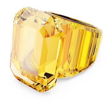 Δαχτυλίδι κοκτέιλ Lucent, Κίτρινο - Swarovski, 5600226