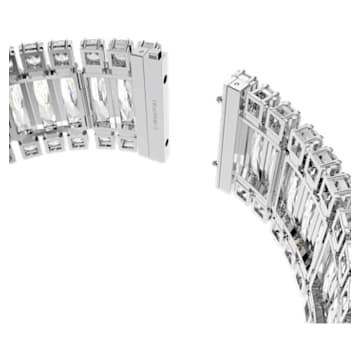 Hyperbola 頸鍊, 白色, 鍍白金色 - Swarovski, 5601035