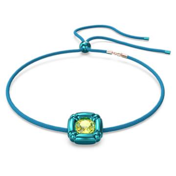 Dulcis 项链, 蓝色 - Swarovski, 5601586