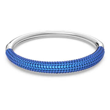 Tigris 手镯, 蓝色, 镀铑 - Swarovski, 5604951