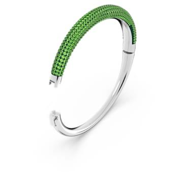 Tigris 手镯, 绿色, 镀铑 - Swarovski, 5604952