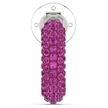 Tigris Кафф, Одиночный, Розовый кристалл, Родиевое покрытие - Swarovski, 5604962