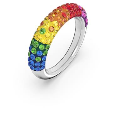 Tigris 戒指, 流光溢彩, 镀铑 - Swarovski, 5605014
