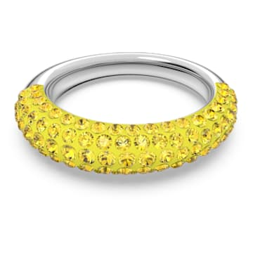 Tigris 戒指, 黄色, 镀铑 - Swarovski, 5605016