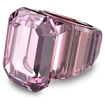 Lucent cocktail ring, Pink - Swarovski, 5607360