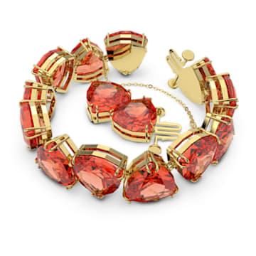 Millenia Armband, Kristall im Trilliant-Schliff, Orange, Goldlegierungsschicht - Swarovski, 5609713
