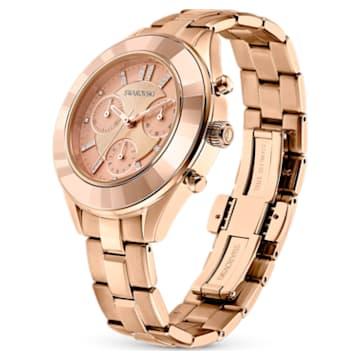 Orologio Octea Lux Sport, Bracciale di metallo, Tono oro Rosa, PVD oro Rosa - Swarovski, 5610469