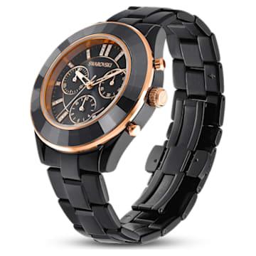 Octea Lux Sport Uhr, Metallarmband, Schwarzes PVD-Finish - Swarovski, 5610472