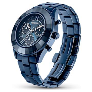 Orologio Octea Lux Sport, Bracciale di metallo, PVD blu - Swarovski, 5610475