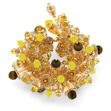 Somnia bracelet, Multicoloured, Gold-tone plated - Swarovski, 5610575