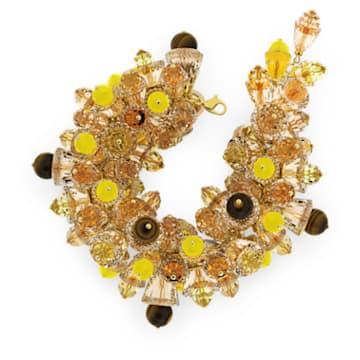Somnia armband , Meerkleurig, Goudkleurige toplaag - Swarovski, 5610575