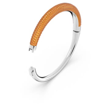 Tigris armband, Oranje, Rodium toplaag - Swarovski, 5610947