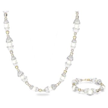 Somnia 套装, 白色, 镀金色调 - Swarovski, 5610981