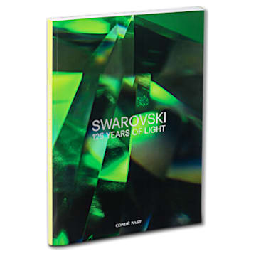 Swarovski 125 Years of Light, Jubiläumsbuch, grün - Swarovski, 5612276