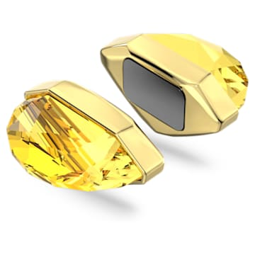 Lucent 耳骨夹, 单个, 黄色, 镀金色调 - Swarovski, 5613552