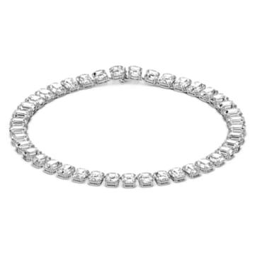 Millenia 项链, 八角形切割仿水晶, 白色, 镀铑 - Swarovski, 5614929