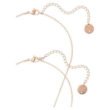 唐嫣同款心相莲七夕情人节系列粉红色项链套装- Swarovski, 5615095