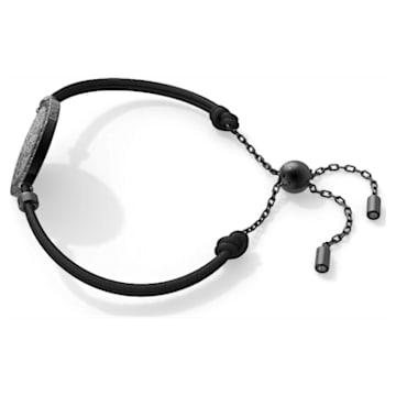 中国专属心相莲七夕情人节系列黑色大奖章手链- Swarovski, 5615189