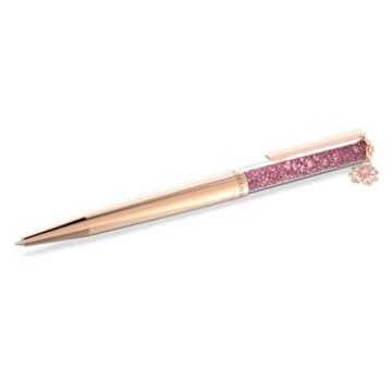 心相莲七夕情人节系列粉红色圆珠笔 - Swarovski, 5615728