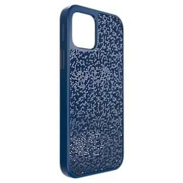 Glam Rock smartphone case, iPhone® 12/12 Pro, Blue - Swarovski, 5616361