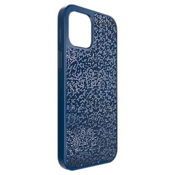 Glam Rock Smartphone 套, iPhone® 12 Pro Max, 蓝色 - Swarovski, 5616362