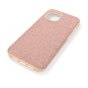 High Smartphone 套, iPhone® 12 Pro Max, 玫瑰金色调 - Swarovski, 5616364