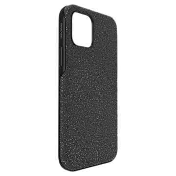 High smartphone case, iPhone® 12/12 Pro, Black - Swarovski, 5616377