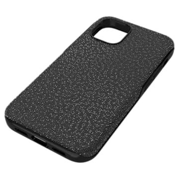 High smartphone case, iPhone® 12 mini, Black - Swarovski, 5616379