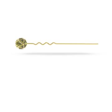 CRA002 发卡, 绿色, 镀金色调 - Swarovski, 5617733