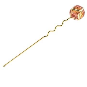 CRA002 发卡, 粉红色, 镀金色调 - Swarovski, 5617734