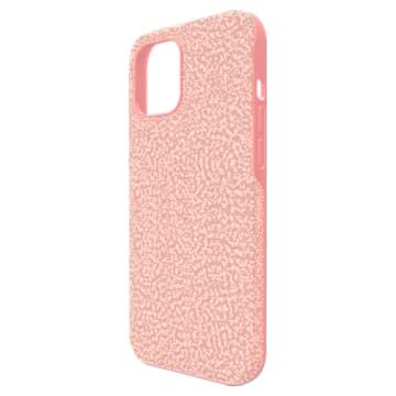 High Smartphone case, iPhone® 12 Pro Max, Pink - Swarovski, 5622304