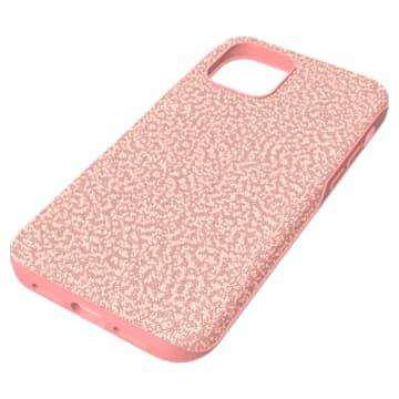 High Smartphone 套, iPhone® 12/12 Pro, 粉红色 - Swarovski, 5622305