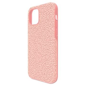 High Smartphone case, iPhone® 12/12 Pro, Pink - Swarovski, 5622305