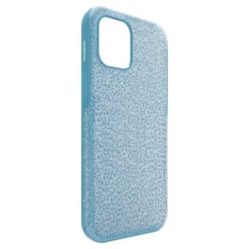 High Smartphone case, iPhone® 12 Pro Max, Blue - Swarovski, 5622306