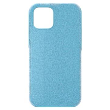High Smartphone case, iPhone® 12/12 Pro, Blue - Swarovski, 5622307