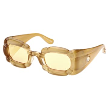 DLC002 sunglasses, Statement, Gold-tone - Swarovski, 5625293