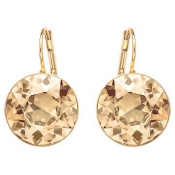 Orecchini Bella, tono dorato, placcato color oro - Swarovski, 901640