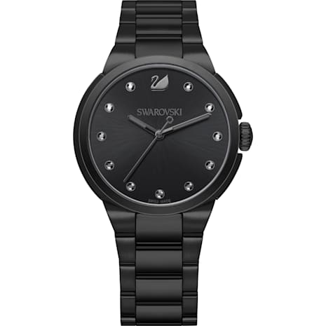 Reloj Reloj CityCorrea Negro MetalNegroTono De UzpVSM