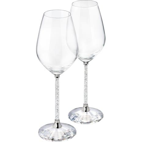 Crystalline Şarap Kadehleri (2'li Set) - Swarovski, 1095948