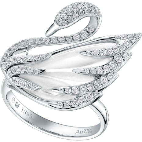 Faithtul Swan Ring - Swarovski, 5009867
